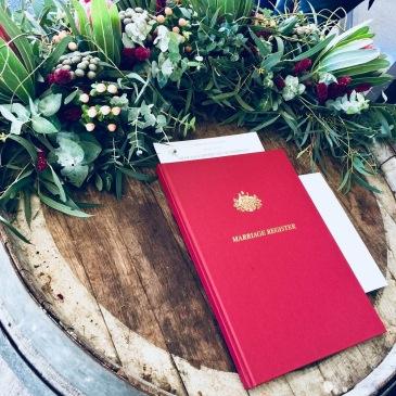 Michelle Redfern Marriage Register
