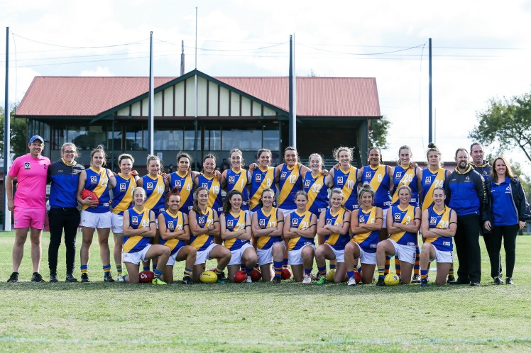 The Williamstown VFLW Team