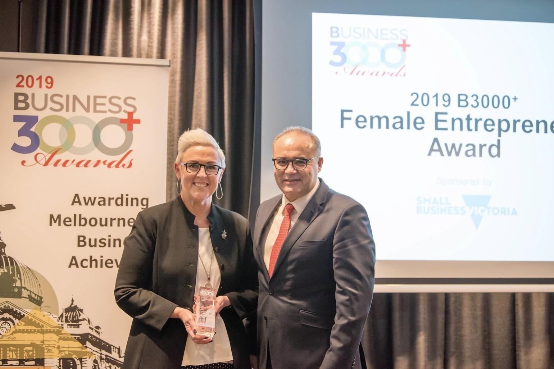 Michelle Redfern B3000 Female Entrepreneur