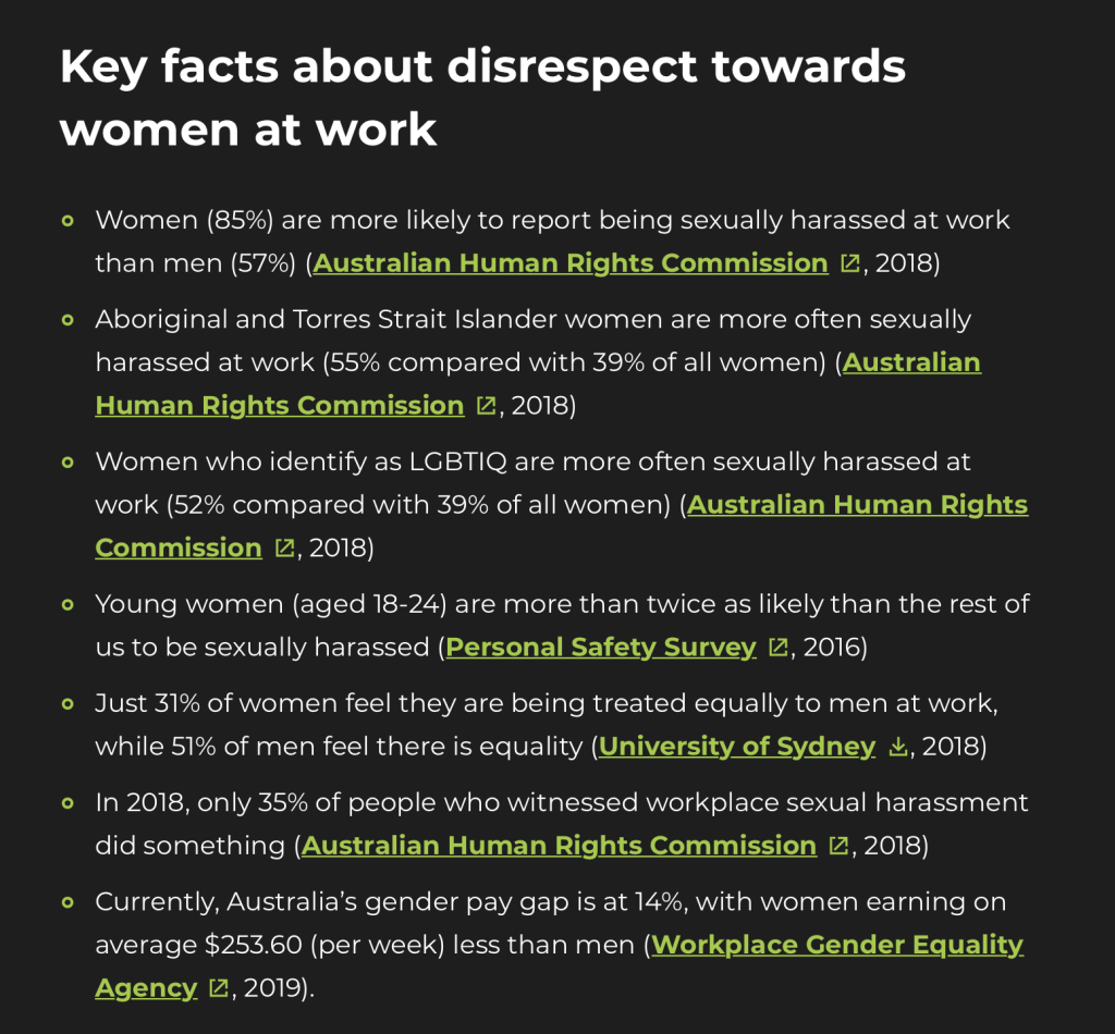 3 Ways to Shine a Light on Disrespect Towards Women at Work